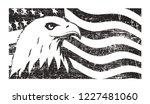 bald eagle symbol of north...   Shutterstock .eps vector #1227481060