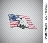 bald eagle symbol of north...   Shutterstock .eps vector #1227481063