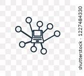 peer to peer vector outline... | Shutterstock .eps vector #1227484330
