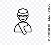 producer vector linear icon... | Shutterstock .eps vector #1227484600