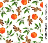 seamless pattern with fresh... | Shutterstock . vector #1227503623