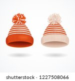 realistic 3d detailed winter... | Shutterstock .eps vector #1227508066