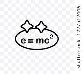 relativity vector linear icon... | Shutterstock .eps vector #1227512446