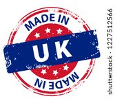 made in uk or england rubber... | Shutterstock .eps vector #1227512566