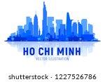 ho chi minh city  vietnam ... | Shutterstock .eps vector #1227526786
