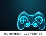 game pad icon. joy pad. joy... | Shutterstock .eps vector #1227528436