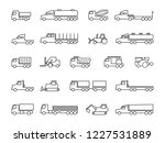 construction machines. trucks ... | Shutterstock .eps vector #1227531889