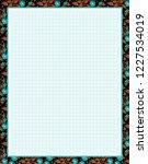 vector printing paper note ...   Shutterstock .eps vector #1227534019