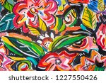 details of acrylic paintings... | Shutterstock . vector #1227550426