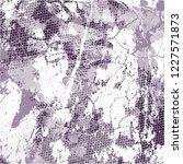 grunge urban vector texture... | Shutterstock .eps vector #1227571873