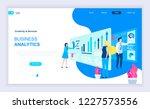 modern flat design concept of... | Shutterstock .eps vector #1227573556