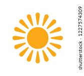 sun icon  sunshine sun art... | Shutterstock .eps vector #1227574309