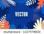 vector illustration in trendy... | Shutterstock .eps vector #1227578833