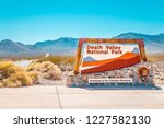 classic view of famous death... | Shutterstock . vector #1227582130
