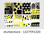 set of creative universal... | Shutterstock .eps vector #1227591220