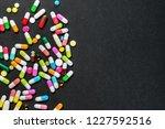 assortment of pharmaceutical... | Shutterstock . vector #1227592516