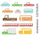 transportation | Shutterstock .eps vector #122761810