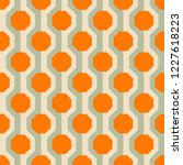 retro seamless pattern from the ...   Shutterstock .eps vector #1227618223