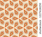 retro seamless pattern from the ... | Shutterstock .eps vector #1227618250