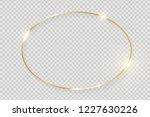 gold shiny glowing vintage... | Shutterstock .eps vector #1227630226