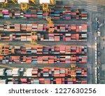 shipping cargo commercial... | Shutterstock . vector #1227630256