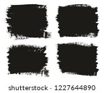 calligraphy paint brush... | Shutterstock .eps vector #1227644890