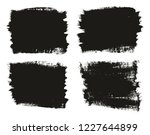 calligraphy paint brush... | Shutterstock .eps vector #1227644899