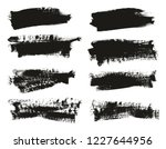 calligraphy paint brush... | Shutterstock .eps vector #1227644956