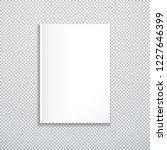 vector white blank mock up... | Shutterstock .eps vector #1227646399