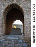 ateshgah   zoroastrian fire...   Shutterstock . vector #1227658003