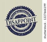 blue disappoint distress rubber ... | Shutterstock .eps vector #1227666199