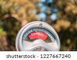 vintage australian parking...   Shutterstock . vector #1227667240