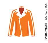 vector women jacket... | Shutterstock .eps vector #1227673456