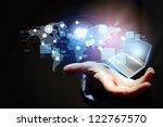 modern wireless technology... | Shutterstock . vector #122767570