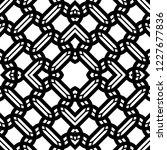 design seamless monochrome grid ... | Shutterstock .eps vector #1227677836