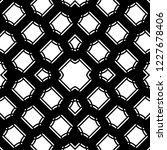 design seamless monochrome grid ... | Shutterstock .eps vector #1227678406