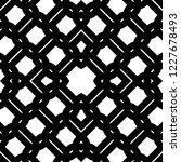 design seamless monochrome grid ... | Shutterstock .eps vector #1227678493