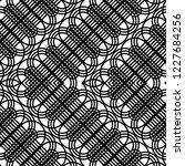 design seamless monochrome... | Shutterstock .eps vector #1227684256