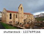 monastery of santa clara a... | Shutterstock . vector #1227699166