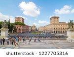 rome  italy   october 4 2016 ... | Shutterstock . vector #1227705316