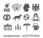 germany icons set | Shutterstock .eps vector #1227727516