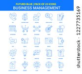 business management icons  ... | Shutterstock .eps vector #1227735169