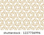 the geometric pattern with... | Shutterstock .eps vector #1227736996