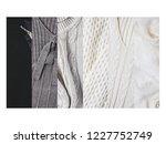 collage of women's knitwear   Shutterstock . vector #1227752749