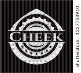cheek silver shiny badge | Shutterstock .eps vector #1227753910