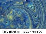 fractal conceptual art.... | Shutterstock . vector #1227756520