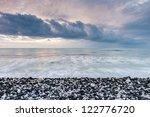 Sea And Pebbly Beach  Kourion...