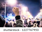 protest  uprising  march or... | Shutterstock . vector #1227767953