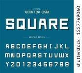 font and alphabet vector ... | Shutterstock .eps vector #1227769060