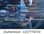 digital software development ...   Shutterstock . vector #1227776710